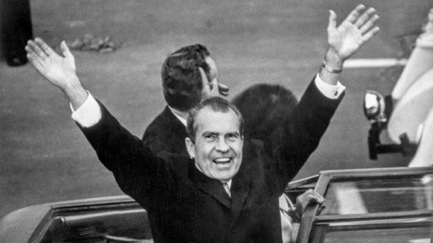 Wurde später des Amtes enthoben: US-Präsident Nixon