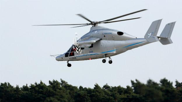Fliegt 472 km/h: Der Eurocopter X3