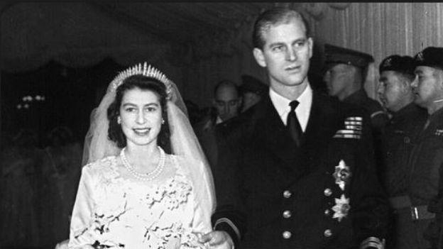 Noch ist sie Prinzessin: Die spätere Elisabeth II heiratet