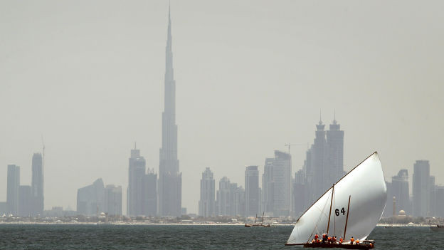 163 Etagen, 900 Wohnungen: Burj Khalifa in Dubai.