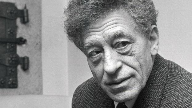 Schweizer Jahrhundertkünstler: Alberto Giacometti.