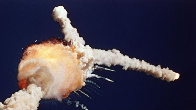 Ur-Katastrophe der NASA: Raumfähre Challenger.