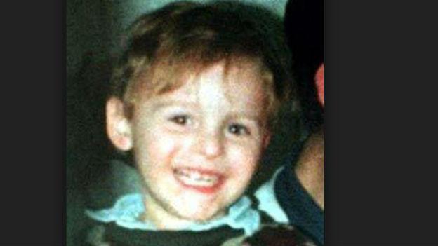 James Bulger, Entführungsopfer in Liverpool.