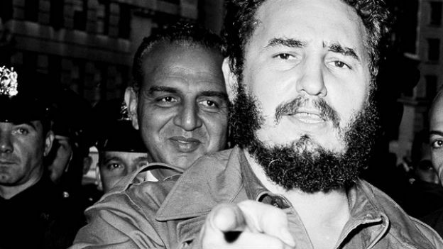 Ikone des «grossen Kampfes»: Fidel Castro.