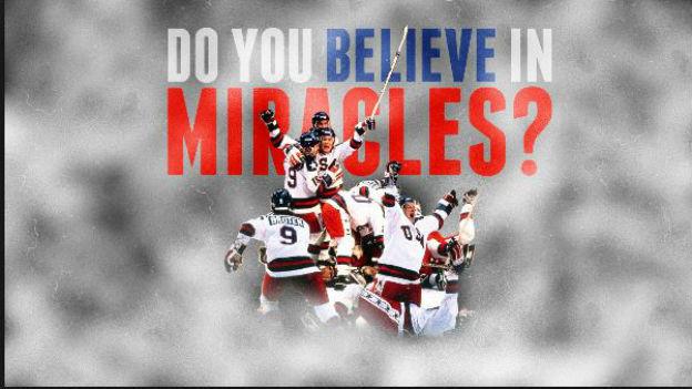 US-Hockeyaner besiegen die UdSSR: Ein «Wunder».