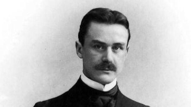 Thomas Mann, kurz vor Erscheinen der «Boodenbrooks».
