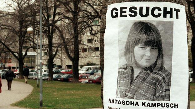 Natascha Kampusch, Entführungsopfer.