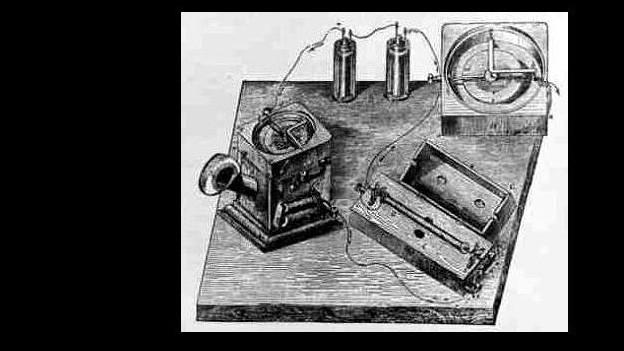Überwindung des Raumes: Telefongerät wird patentiert.