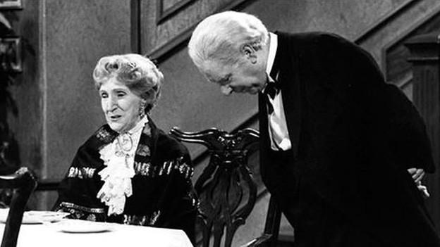 «Dinner for One»: Silvestervorstellung fürs Fernsehen.
