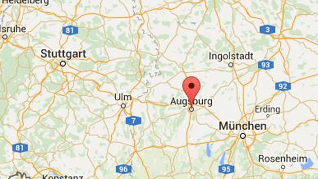 Augsburg in Bayern: Einst Habsburg verbunden.