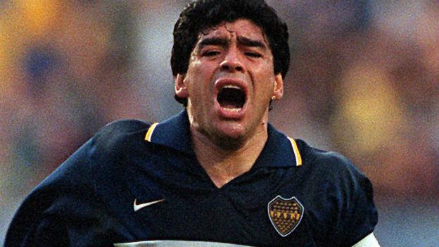 Göttlich, aber gedopt: Diego Maradona.