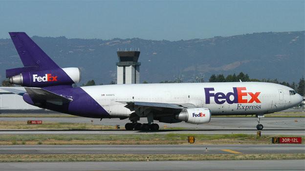 Diese Maschine wurde vom FedEx-Angestellten Auburn Calloway entführt