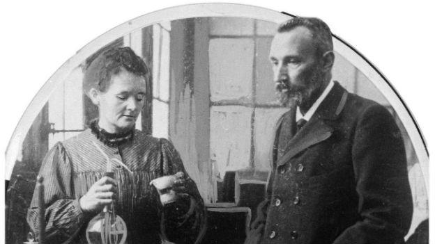 Entdeckten das Radium: Marie und Pierre Curie.