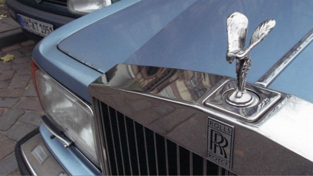 Topmodell der Luxusklasse: Der Rolls Royce.