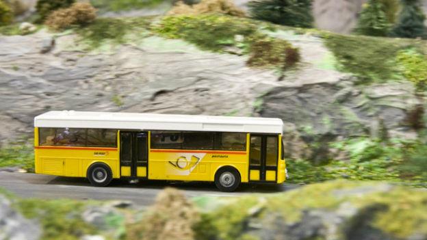 Erfolgsmodell auf Schweizer Bergen: Postauto.