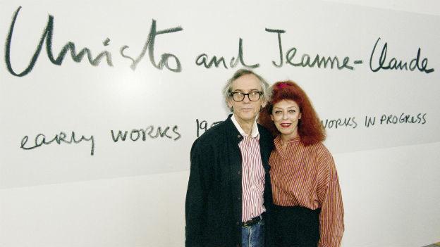 Künstlerehepaar Christo und Jeanne-Claude.
