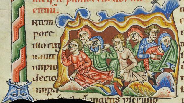 195 Jahre im Schlaf: Die sieben Schläfer von Ephesus.