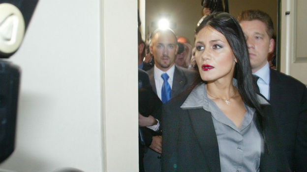 Djamila Rowe, zentrale Figur im Ringier-Medienskandal.