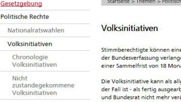 Die Volksinitiative: Herzstück der Schweizer Demokratie.
