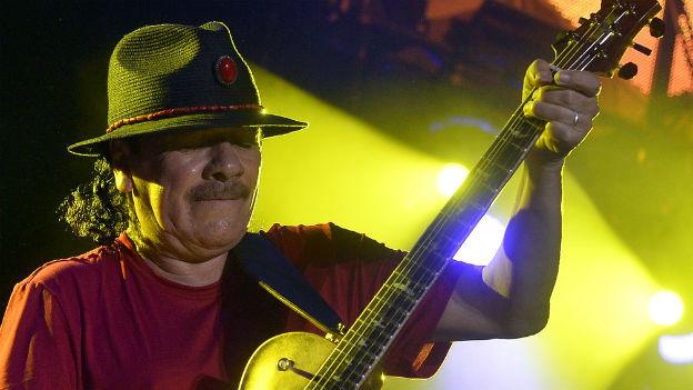 Carlos Santana, die Ikone des Latin Rock.