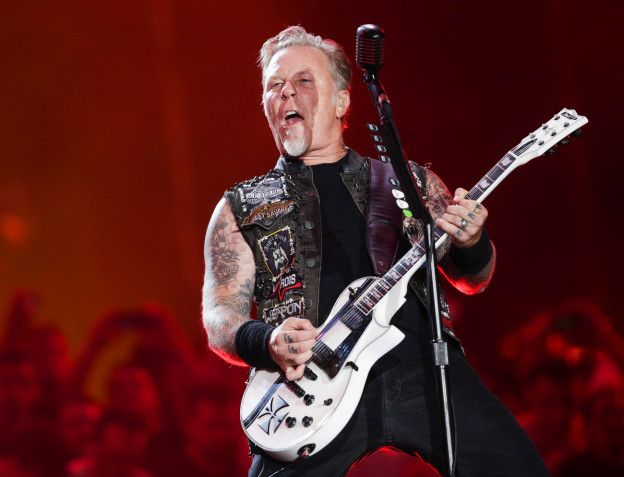 Metal-Ikone mit Ziegenbart: James Hetfield