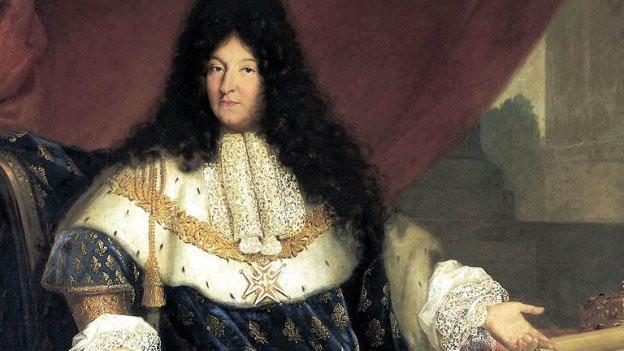 Louis XIV. soll in seinem ganzen Leben nur dreimal gebadet haben.