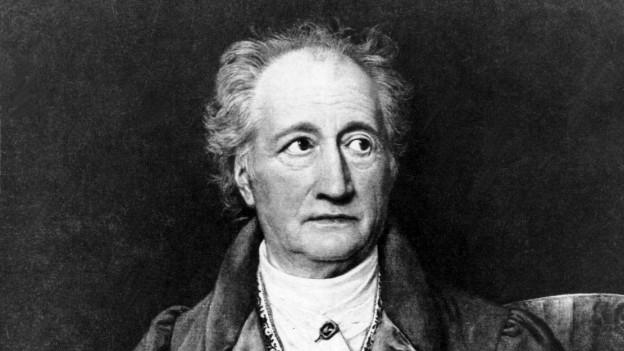 Der deutsche Dichter Johann Wolfgang von Goethe auf einem Gemaelde aus dem Jahre 1828 von Joseph StielerDer deutsche Dichter Johann Wolfgang von Goethe auf einem Gemälde aus dem Jahre 1828 von Joseph Stieler.