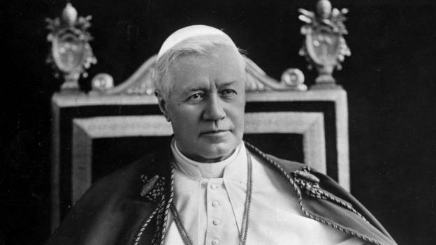 Papst Pius X. war von 1903 bis 1914 im Amt.