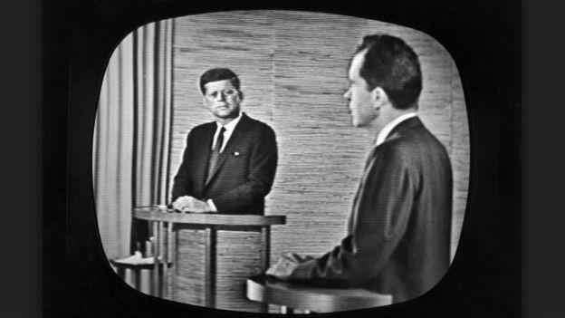 Duell der Duelle: Kennedy gegen Nixon, 1960.