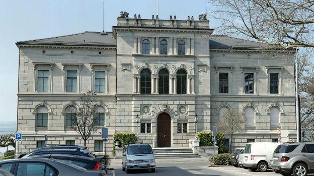 Hinterhältiger Angriff: Parlamentsgebäude von Zug.