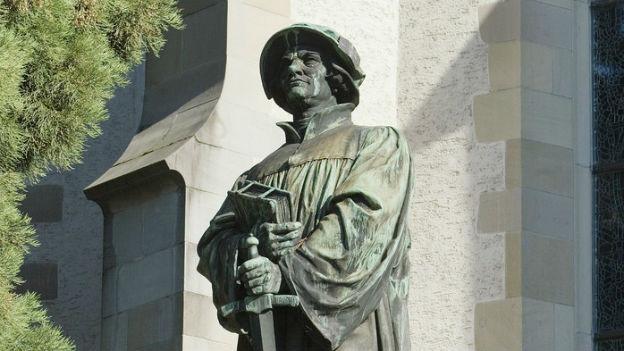 Tod im Religionskrieg: Ulrich Zwingli, Reformator.
