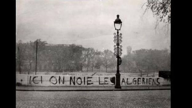 Mindestens 200 Protestierende getötet: Paris, 1961.