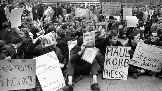 Was darf eine kritische Presse? Spiegel-Affaire 1962.