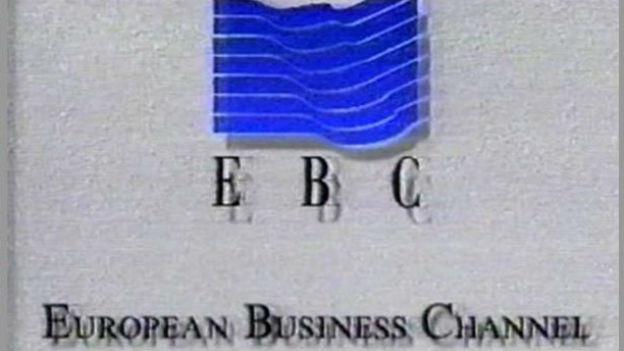 Erstes Schweizer Privatfernsehen: «EBC».