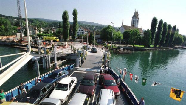 Die Zürichseefähre: Horgen-Meilen und zurück.