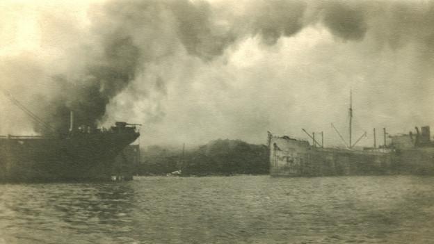 Die Explosion in Halifax war so gewaltig, dass sie eine Flutwelle und heftige Erderschütterungen auslöste.