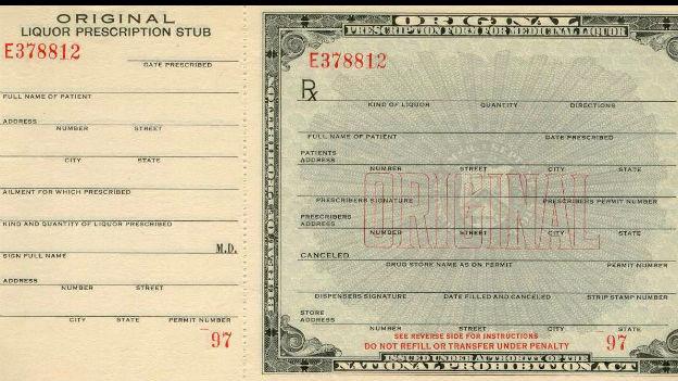 Ein ehrenhaftes Experiment: Prohibition in den USA.