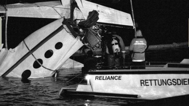 Rätselhafter Unfall: Eine Cessna stürzte in den Bodensee.