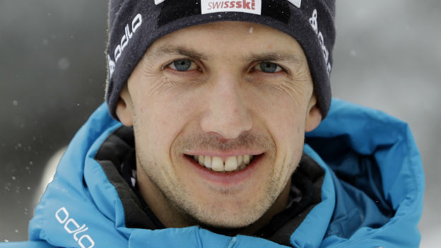 Im Flug zur Weltspitze: Skispringer Simon Ammann.