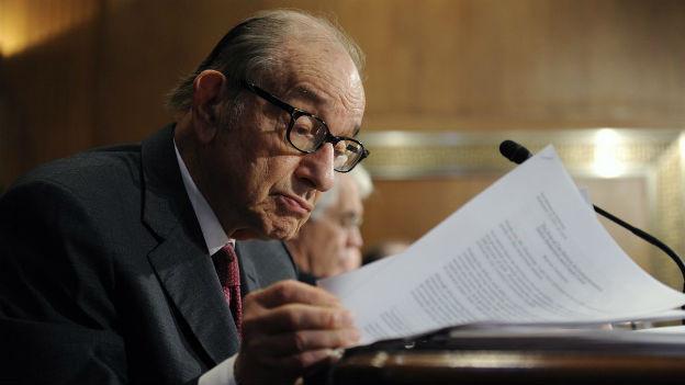 Langjähriger Herr der Märkte: Alan Greenspan.