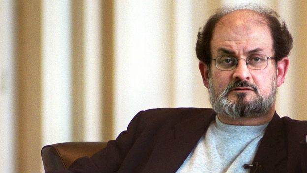 Todesurteil wegen Literatur: Salman Rushdie.