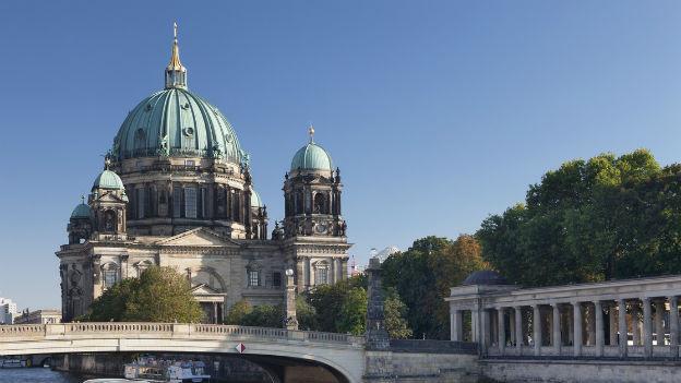 Die Oberpfarr- und Domkirche zu Berlin.