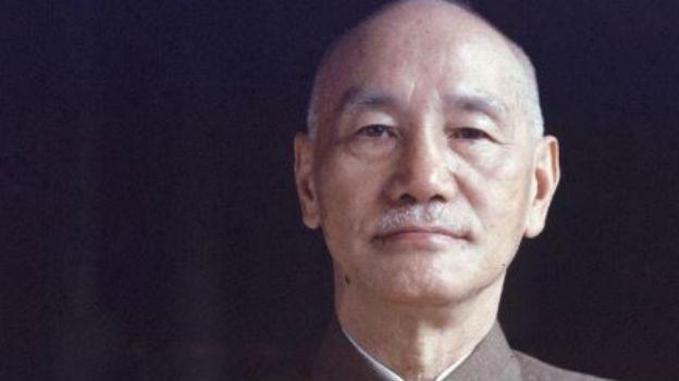 Gegenspieler Mao Zedongs: Chiang Kai-shek.