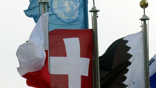 Endlich dabei: Schweizer «Ja» zu UNO, 2002.