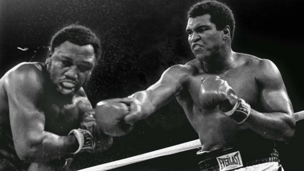 Kamof der Giganten: Joe Frazier gegen Muhammad Ali.