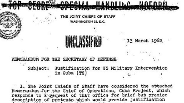 Terror unter falscher Flagge: US-«Operation Northwoods».