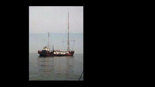 Piratenradio auf hoher See: «Radio Caroline».