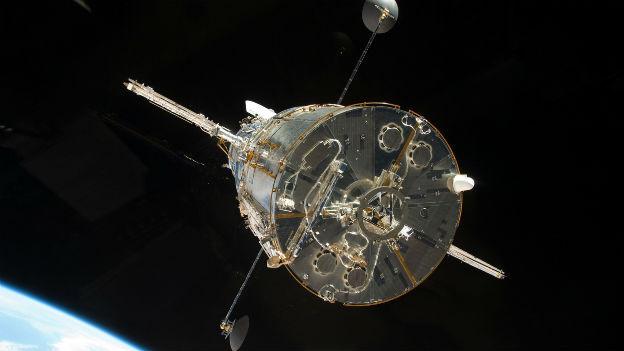 Geschärfter Blick ins All: Hubble-Weltraumteleskop.