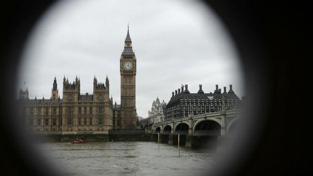 «The Voice of Britain»: Glockenturm des Big Ben.