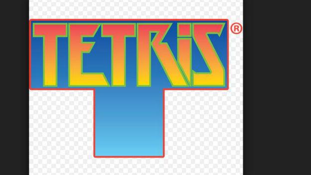 Das Puzzle auf dem Bildschirm: «Tetris».